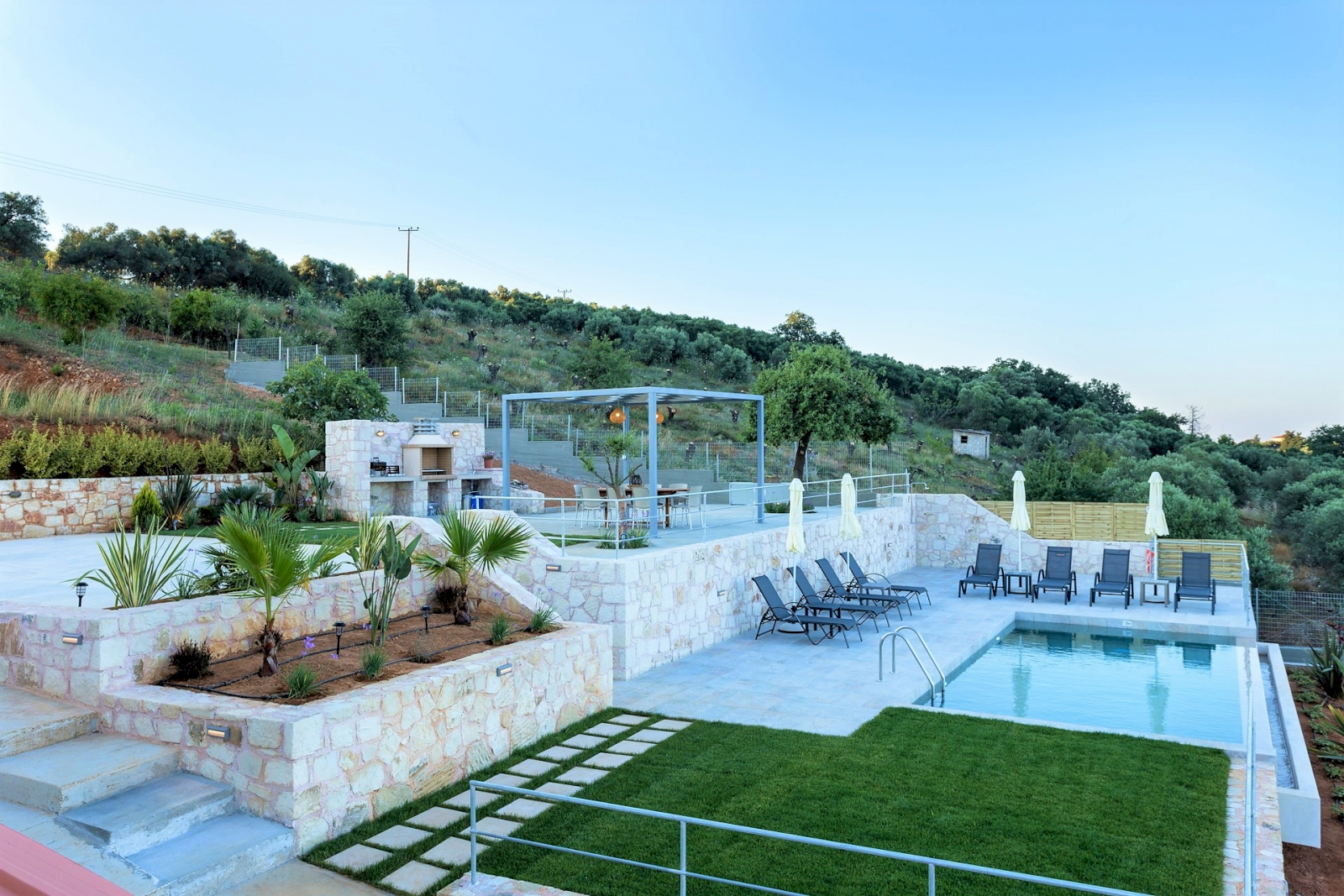 Oasis Villa Chania private villa for rent